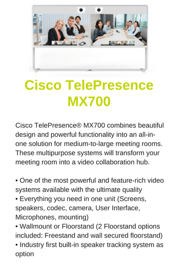 Cisco TelePresence MX700